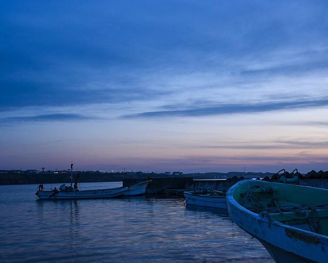 北海道根室市 nemuro-shi,hokkaido,japan夕暮れと冷たい風で冬を感じる