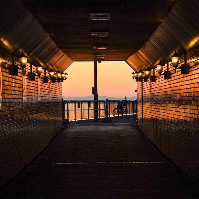 北海道釧路市弊舞橋 kushiro-shi, hokkaido, japan 夕日を見に行こう